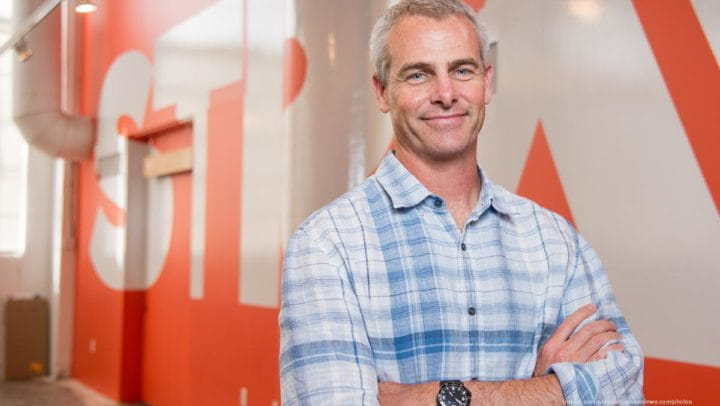 Mark Gainey, co-founder of Strava