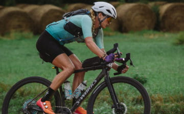 Alison Tetrick racing Dirty Kanza