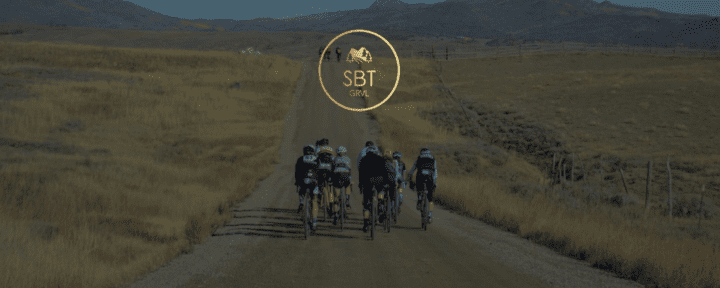 Riding gravel roads at SBT GRVL