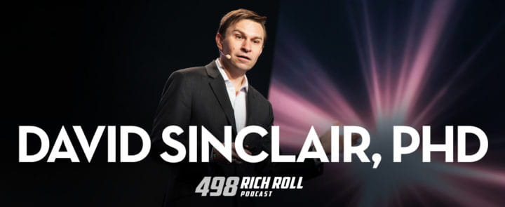 Harvards's David Sinclair with the Rich Roll podcast on aging