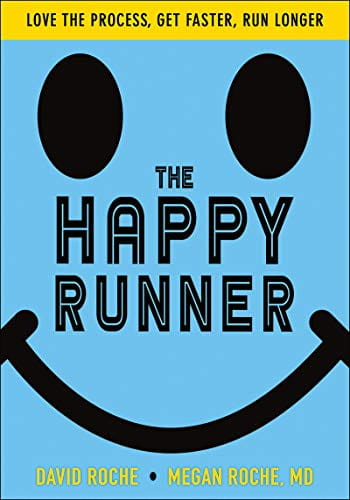 Cover of David and Megan Roche's book The Happy Runner
