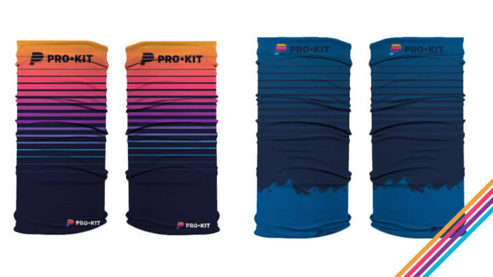Prokit hats and neck gaiters