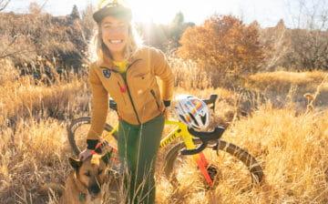 Sarah Sturm with her Specialized gravel bike