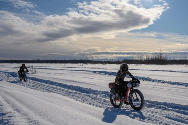 Rebecca Rusch in the Iditarod