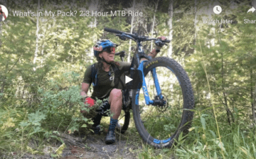 What to pack for mountain biking by Rebecca Rusch