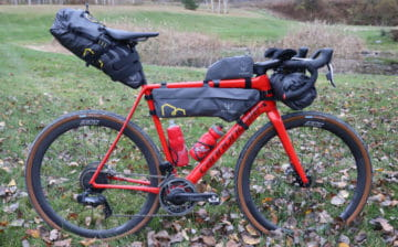 Ted King's bike for the Arkansaw High Country Race