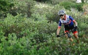 Katerina Nash mountain biking