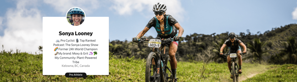 Cyclist and podcaster Sonya Looney on Prokit