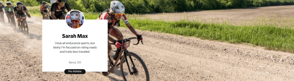 Gravel cyclist and journalist Sarah Max on Prokit