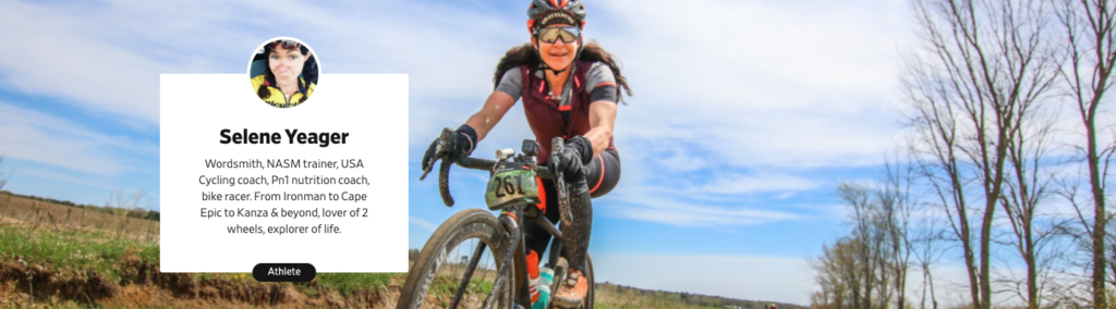 Writer, coach and cyclist Selene Yeager on Prokit