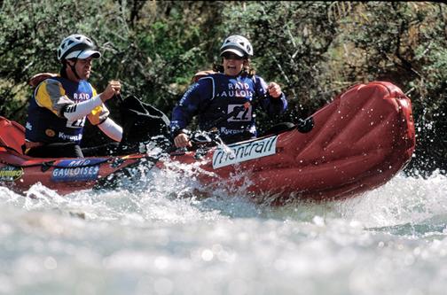 Rebecca Rusch adventure racing in white water
