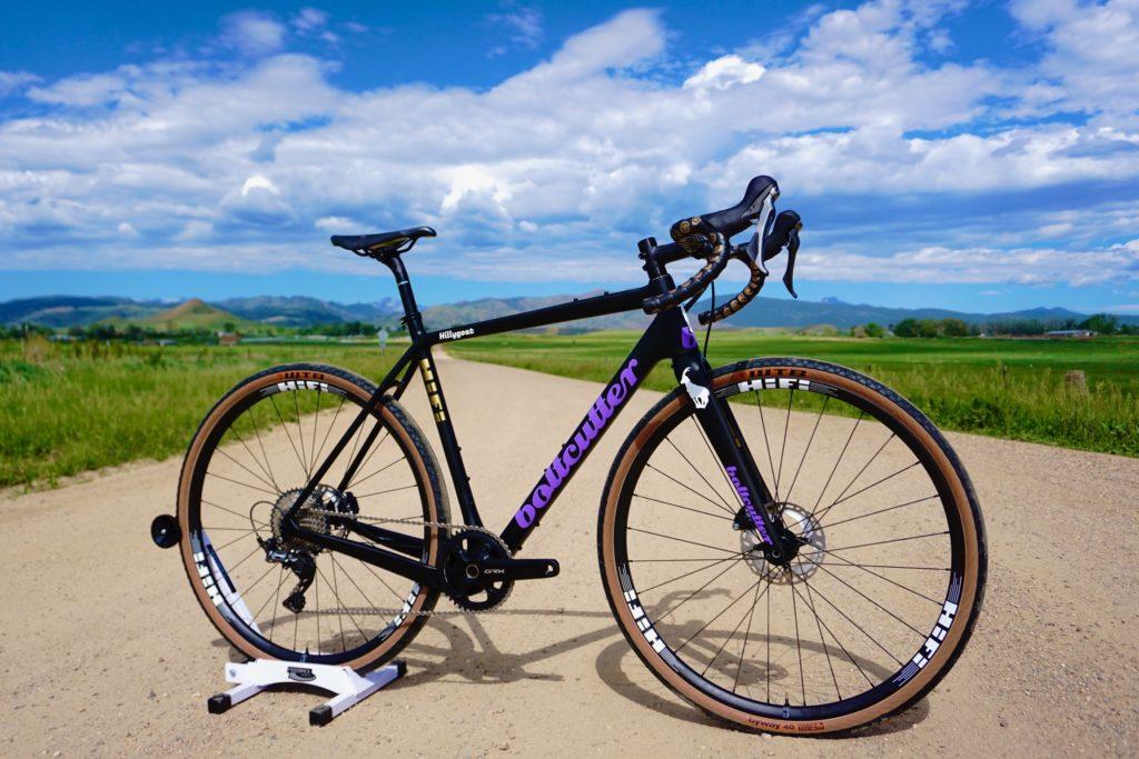 Hillary Allen's gravel bike